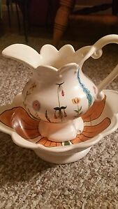 Adorable Ch Pitcher And Bowl Smaller Version