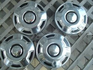 Ford Pickup Truck Van Dog Dish Center Caps Hubcaps Wheel Covers Fomoco 3 4 Ton