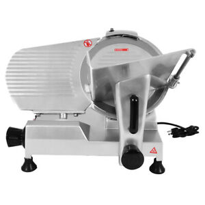 Commercial Meat Slicer 12 Inches Blade Deli Meat Cheese Industrial Heavy Duty