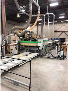 2012 Biesse Skill 1536 G Ft Cnc Router With Auto Load And Auto Offload 5 x12