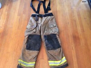 Globe Extreme Fire Fighting Bunker Turnout Pants