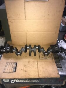 1965 1966 Studebaker Commander 3 2l 194 Cid Oe Crankshaft W Bearings 3820618n