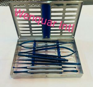 Periodontal Micro Surgery Kit Blue Coated