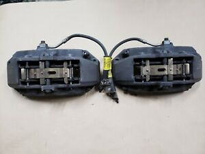 2015 2016 2017 2018 2019 Mustang Gt Front 6 Piston Brembo Brake Calipers Oem