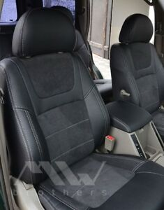 Seat Covers Set For Nissan Patrol Y61 2005 2013 Premium Leather Interior