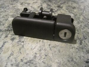 Galant Eclipse Mitsubishi 2001 03 Glove Box Latch Black Without Key