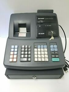 Sharp Xe a22s Electronic Cash Register Keys Included Read