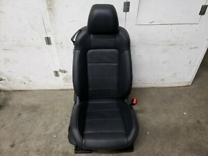 2015 2017 Ford Mustang Gt Rh Passenger Side Black Leather Front Seat Oem