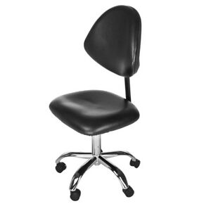 Modern Rolling Black Home Task Chair For Desk Or Office With Adjustable Height B