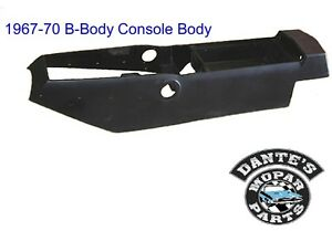 66 67 68 69 70 B Body Charger Gtx Road Runner Auto Automatic Center Console New