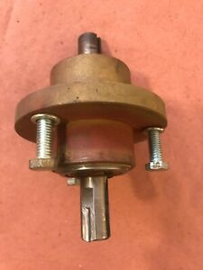 Powermatic 14 141 Bandsaw Lower Wheel And Pulley Drive Shaft Assembly Band Saw