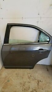 2010 2011 2012 Ford Fusion Gray Grey Rear Left Driver Side Door With Glass