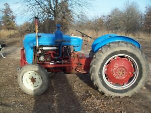 Antique 1958 Ford 801 Diesel Tractor 172 4 Cyl Engine Runs Great