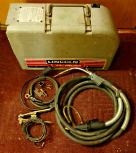 Lincoln Ln25 Wire Feeder Welder Mig With Magnum 300 Gun