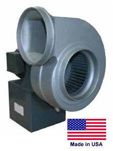 Centrifugal Blower Industrial 7 7 8 Ports 1 5 Hp 115 230v 1 Ph 1550 Cfm