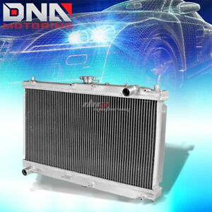 For 98 05 Mazda Miata Mx5 Nb Manual Two Row Core Full Aluminum Racing Radiator