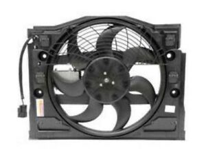 Bmw E46 Auxiliary Fan Assembly Front Of Radiator Electric Tyc Blower Motor