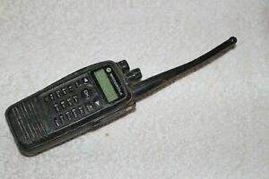 Motorola Xpr 6550 Aah55qdh9la1an Radio for Parts Please Read First Untested