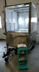 7 9 X 46 Shaved Ice Concession Trailer W Ice Shaver And Extras