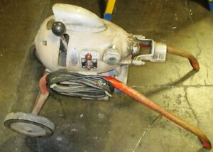 Ridgid Kollmann Km 1500 Power Snake Cleaner Km 1500 With 90 Snake And Tools