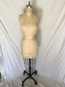 Vintage Global Model Forms Female Size 5 Model 1988 Collapsible Dress Form