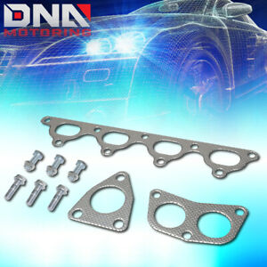 For 1990 1996 Honda Accord Prelude H23a1 2 3 Dohc Exhaust Manifold Header Gasket