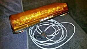Whelen Responder Lp Con3 Led Mini Lightbar Mag Mount R1lppa