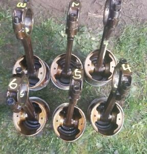 Chevy 292 Rods And Std Used Pistons