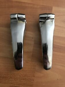 Bmw Isetta 600 Rear Engine Lid Hinges Rechromed