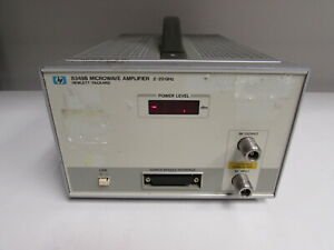 Agilent Hp 8349b Connectors Broadband Amplifier 2 To 20 Ghz