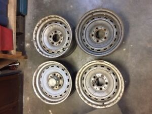 Chevy Truck Rally Wheels 15x7 5 Lug C10 Blazer