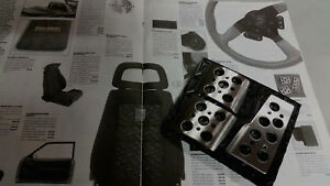 Saleen Mustang Race Pedals 79 86 87 93 Sn 95 Ssc Roush Steeda Ford Foxbody Gt