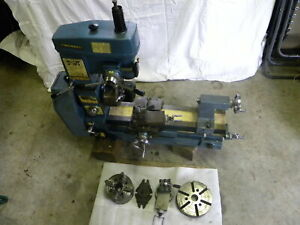 Smithy Midas 12 Lathe Mill Drill Mill 12 X 18 20v Nice W Accessories