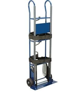 600lb Industrial Moving Appliance Dolly Hand Truck Cart Heavy Duty Stair Climb