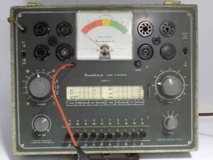 Very Good Working Heathkit Tc 2 Vintage Tube Tester Tests Those Early Tubes
