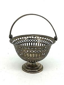 Gorham Sterling Reticulated Lacey Basket 108 Grams