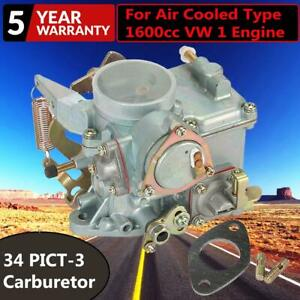 98 1289 b Carb For Beetle Thing Transporter 34 Pict 3 Engines Carburetor Type 1