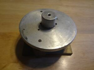Vintage Machinist Lathe Combination Cross Slide Cylinder 4 Inch Section