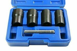Impact Twist Socket Set Locking Wheel Nut Bolt Stud Extractor 1 2 Dr 3238