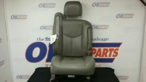 06 Chevy Silverado 3500 Front Passenger Right Power Seat Gray Leather