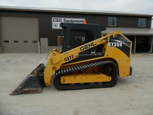 2016 Gehl Rt250 Tracked Skidsteer Very Nice Shape Low Hours Video