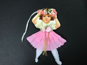 Paper Doll Valentine S Day Easter Ornaments Chenille Feather Tree Item 19