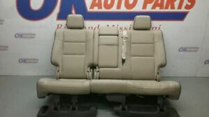 11 Jeep Grand Cherokee Overland Rear Seat Tan Leather