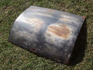 Org 1928 1929 Model A Ford Coupe Roadster Trunk Lid Trog Ar Jalopy Rat Rod Hot