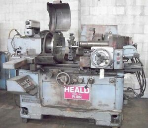 Heald 271 Universal Internal Grinder Id Grinder With Id And Facing Spindle