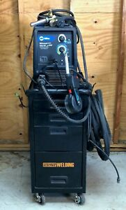 Miller Millermatic 211 With Welding Cart And Spoolmate Gun