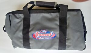 Nhra Summit Tool Bag Black Gray Canvas Zipper Tool Bag With Pouches