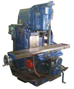 2 Cincinnati Greaves Vertical Milling Machine