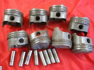 Sbc Pistons Standard With Pins 3927172