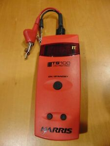 Harris Ts100 Cable Fault Finder With Test Leads